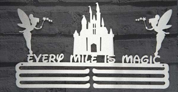 Every mile is magic Medal Hanger and Medal Displays from The Runners Wall