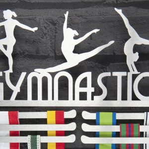 Gymnastics Medal Hanger and Medal Displays from The Runners Wall