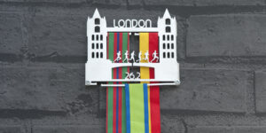 London Medal Hanger and Medal Displays from The Runners Wall
