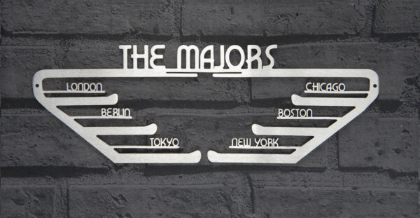The Majors Medal Hanger and Medal Displays from The Runners Wall