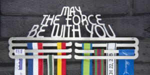 May the force be with you Medal Hanger and Medal Displays from The Runners Wall