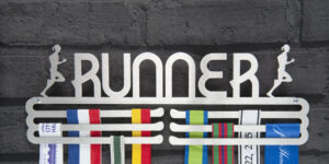 Female Runner Medal Hanger and Medal Displays from The Runners Wall