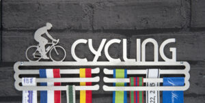 cycling Medal Hanger and Medal Displays from The Runners Wall