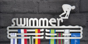 Swimmer Medal Hanger and Medal Displays from The Runners Wall