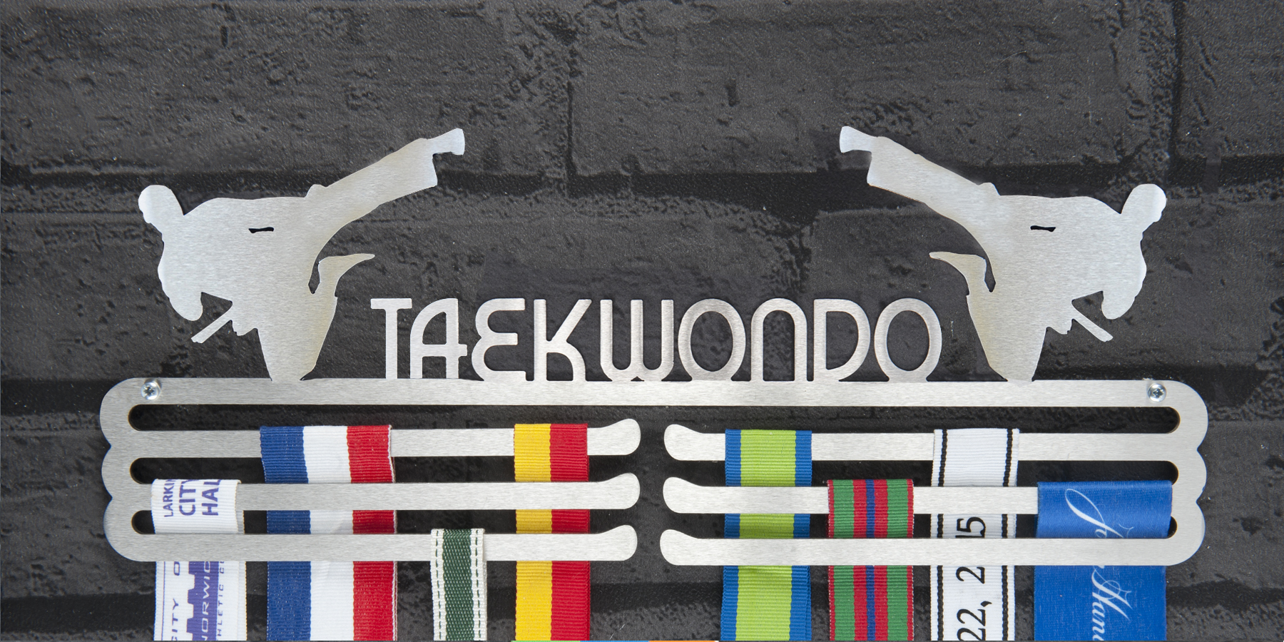 Taekwondo Medal Hanger and Medal Display from The Runners Wall