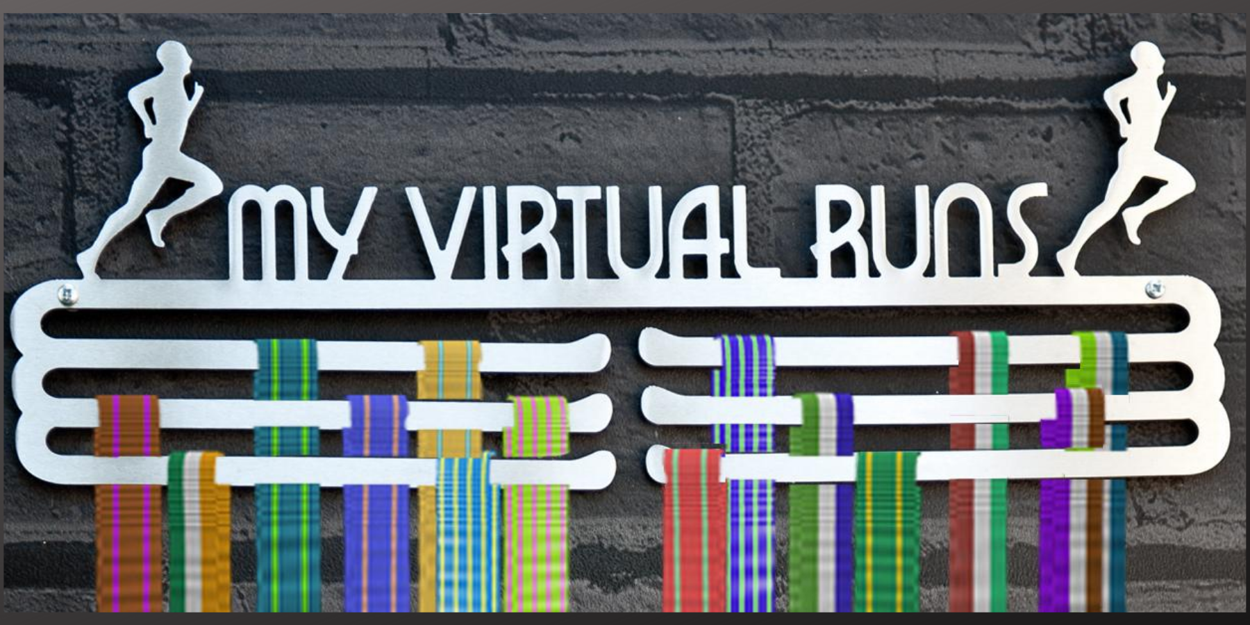 Virtual Running Hanger and Medal Displays from The Runners Wall